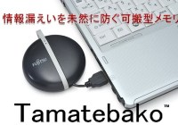 Fujitsu Tamatebako Self-destruct USB Flash Drive