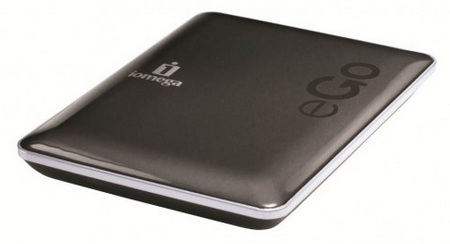 Iomega eGo Charcoal USB 3.0 Portable Hard Drive