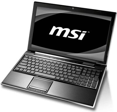 MSI FX400, FX600, FX610, FX700, and FR600 Stylish Notebooks