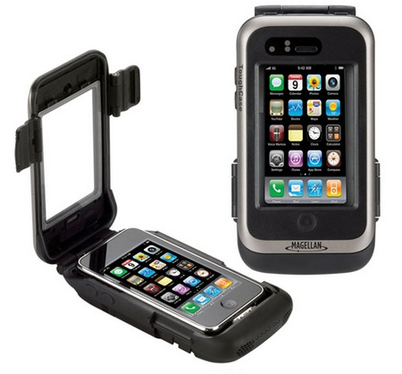 Magellan ToughCase for iPhone and iPod touch is rugged and waterproof
