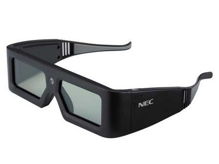 NEC NP216J-3D 3D-Capable DLP Projector 3D glasses