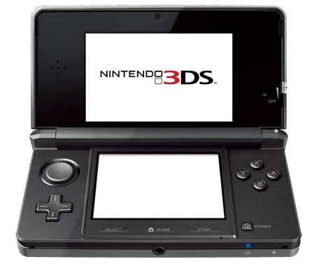 Nintendo 3DS Glasses-Free 3D Gaming System grey