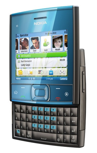 Nokia X5-01 Square QWERTY Phone