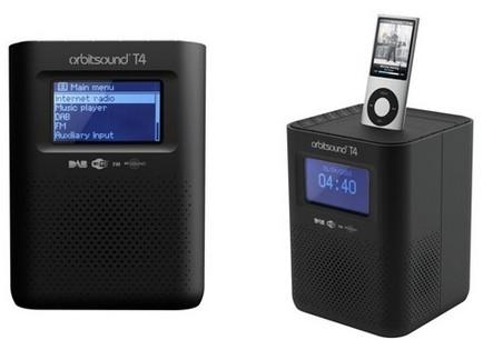 Orbitsound T4 Radiopod internet dab radio ipod dock