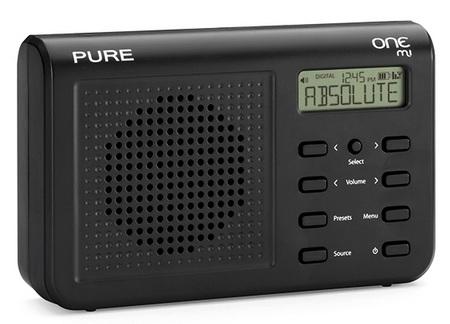 PURE ONE Mi Portable Digital Radio black