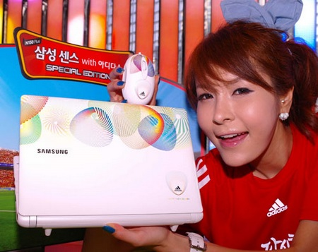 Samsung N150 Plus Adidas Special Edition Netbook with Bluetooth 3.0