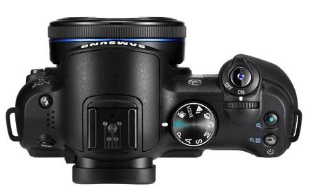 Samsung NX5 Digital Camera top