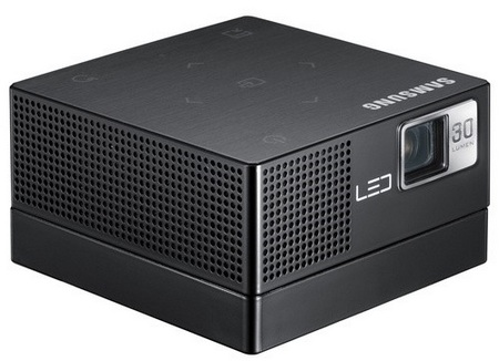 Samsung SP-H03 Pico Projector does Media Playback