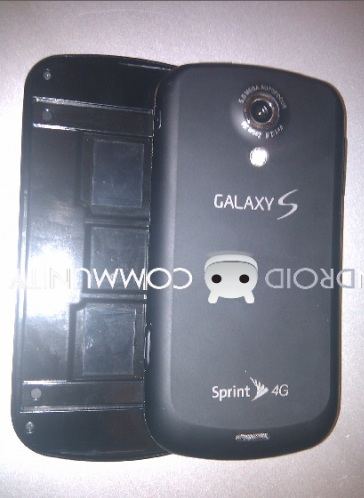 Sprint Samsung Galaxy S Pro with 4G and QWERTY back