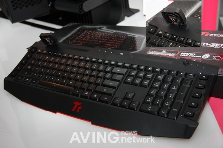 Thermaltake Challenger Pro Gaming Keyboard with Cooling Fan