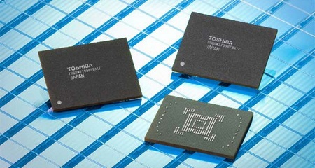 Toshiba 128GB embedded NAND Flash Memory