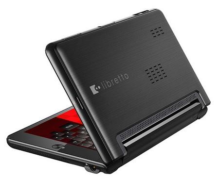 Toshiba libretto W100 Dual-Screen UMPC 1