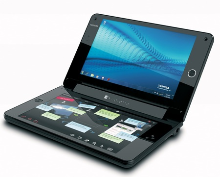 Toshiba libretto W100 Dual-Screen UMPC