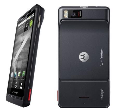 Verizon Motorola Droid X Android Smartphone back
