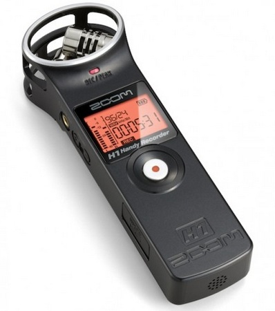 Zoom H1 Handy Stereo Recorder