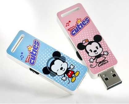 A-DATA Disney Mickey Minnie Cuties T009 USB Flash Drives