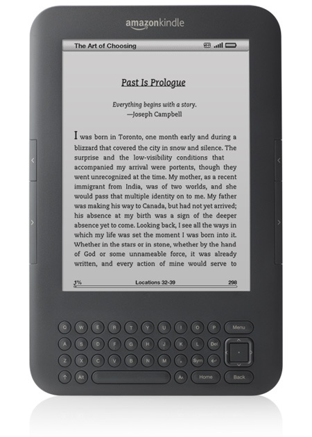Amazon Kindle 3G+WiFi e-book reader Graphite