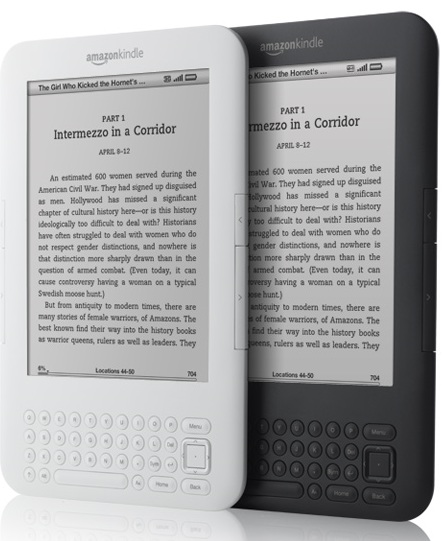 Amazon Kindle 3G+WiFi e-book reader