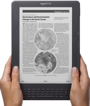 Amazon Kindle DX Graphite Edition gets a better e-ink screen