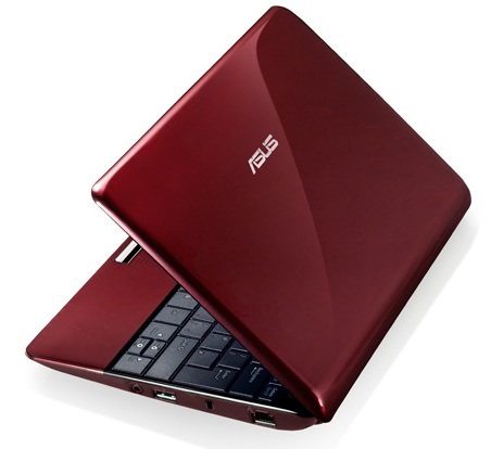 Asus Eee PC 1005PX Seashell Netbook red