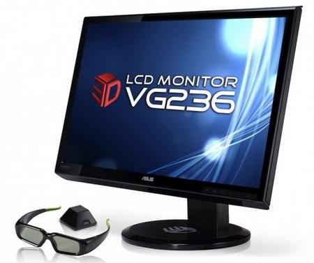 Asus VG236H Full HD Display with NVIDIA 3D Vision