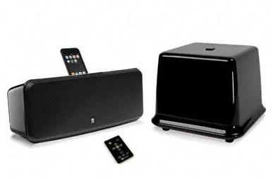 Boston Acoustics i-DS3 plus iPhone iPod Speaker System black