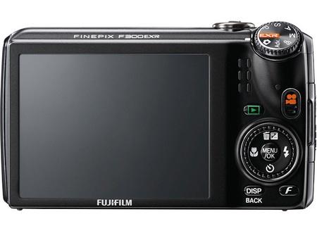 FujiFilm FinePix F300EXR Compact15x Zoom Camera back