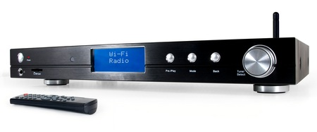 Grace Digital Audio Tuner Wireless Radio and Media Player
