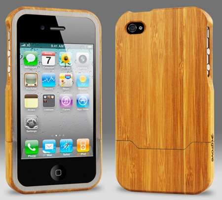 Grove Bamboo iPhone 4 Case 1