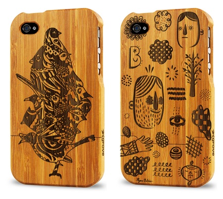 Grove Bamboo iPhone 4 Case Artist Series