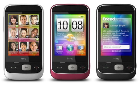 HTC Smart Brew MP Phone colors