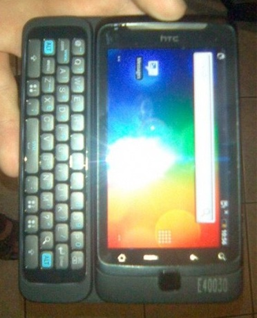 HTC Vision QWERTY Android Phone Leaked