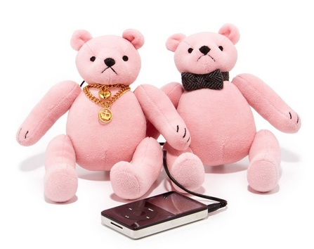 Juice Couture Mini Bear Speakers
