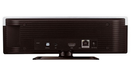 LG DP1W Stylish HD Media Player with WiFi back