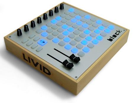 Livid Instruments Block Portable MIDI Control Interface angle