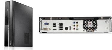 MSI Wind Box DE520 and DC520 Small Form Factor PCs