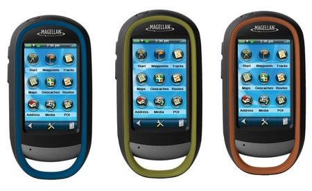 Magellan eXplorist 510, 610 and 710 Outdoor Handheld GPS Devices