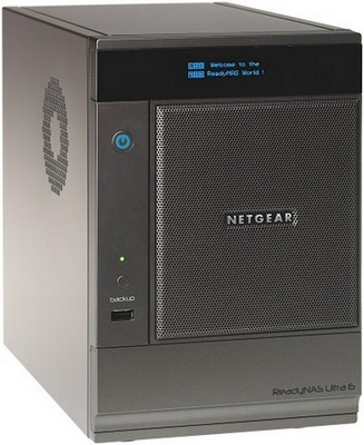 Netgear ReadyNAS Ultra4 and Ultra6 Network Storage Devices