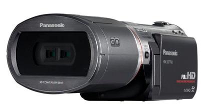 Panasonic HDC-SDT750 Consumer-Grade 3D Camcorder Leaked