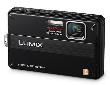 Panasonic LUMIX DMC-TS10 Rugged Digital Camera black