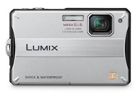 Panasonic LUMIX DMC-TS10 Rugged Digital Camera silver