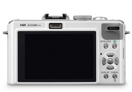 Panasonic Lumix DMC-LX5 Digital Camera back