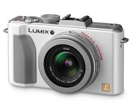 Panasonic Lumix DMC-LX5 Digital Camera silver angle