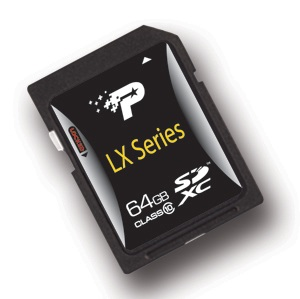 Patriot Memory LX Series 64GB UHS-I SDXC Card