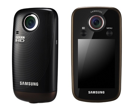 Samsung HMX-E10 Pocket-sized Full HD Camcorder black