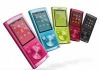 Sony Walkman NWZ-E450 Series PMP with Lyrics Sync and Karaoke colors