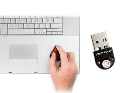 SwiftPoint Tiny Wireless Mouse usb dock