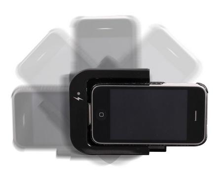 Thanko USBIPZ10 Rotatable iPhone iPod Dock 1
