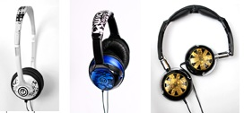Wicked Audio Chill, Reverb and Tour Headphones