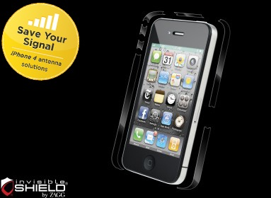 ZAGG Invisible Shield 4FIX Side Shield for iPhone 4